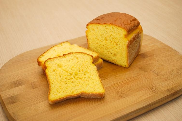 Pão de Forma de Cenoura com Iogurte
